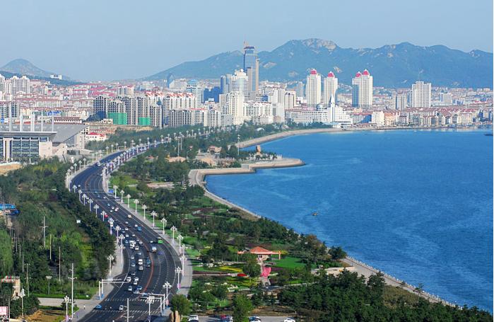 中国山東省の海浜都市「威海」